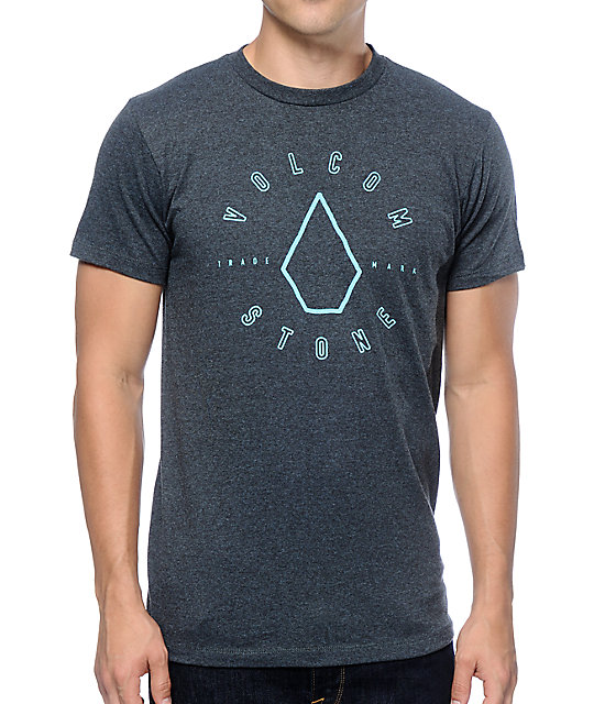 Volcom Scram Dark Blue T-Shirt