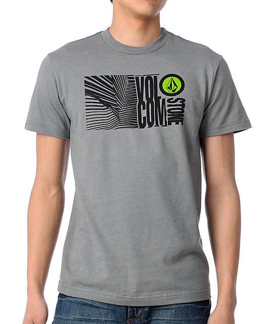 Volcom Seized Grey T-Shirt