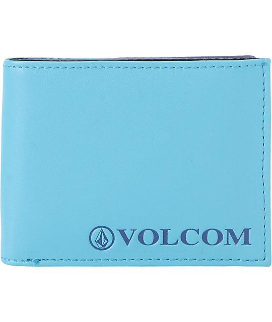 Volcom Serif Ocean Blue Bifold Wallet