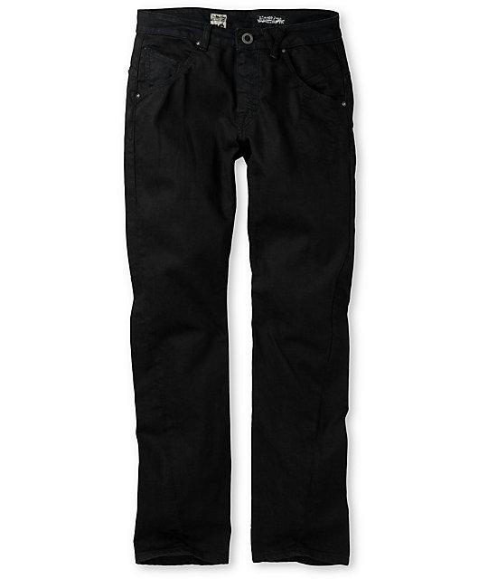 Volcom Slergo Black Skinny Jeans