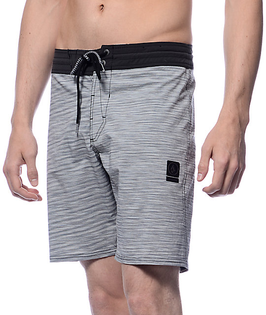 Volcom Slingers Spacey Black Board Shorts
