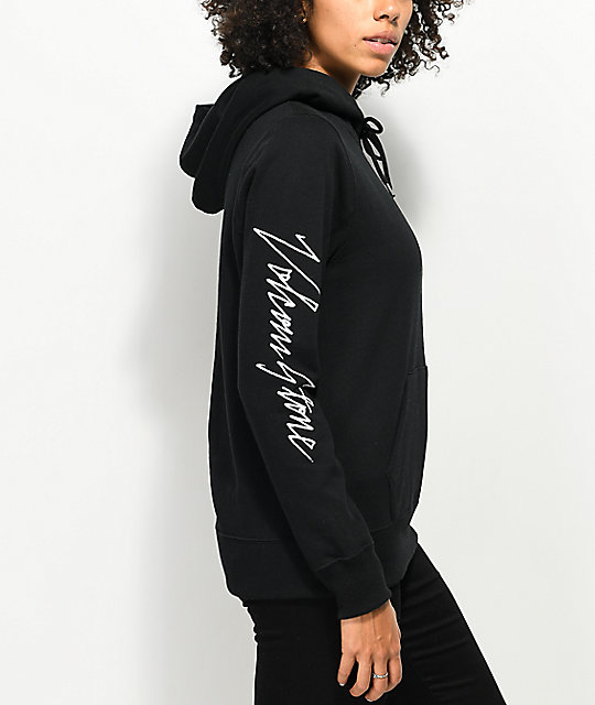 Volcom Slippin' Up Black Hoodie