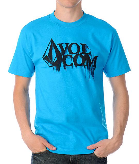Volcom Smear Blue T-Shirt