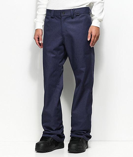 Volcom Solver Denim 10K Snowboard Pants