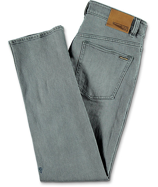 Volcom Solver Light Grey Denim Jeans