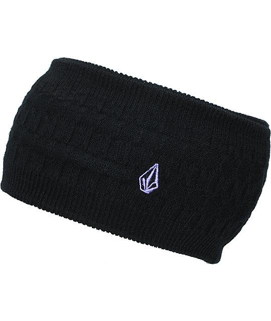 Volcom Sound Black Knit Headband
