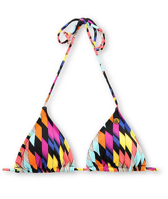 Volcom Southern Summer Slash Triangle Bikini Top