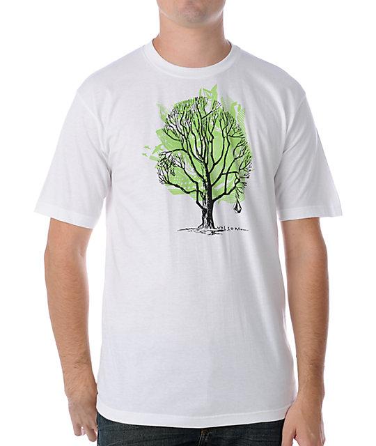 Volcom Spore White T-Shirt