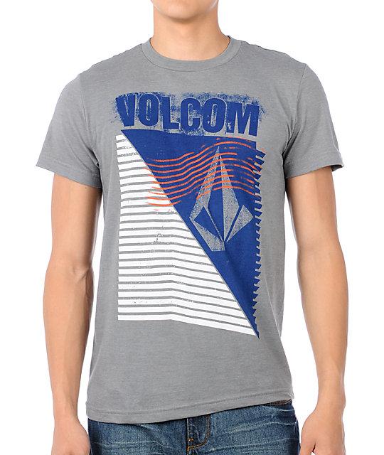 Volcom Stackson Grey T-Shirt