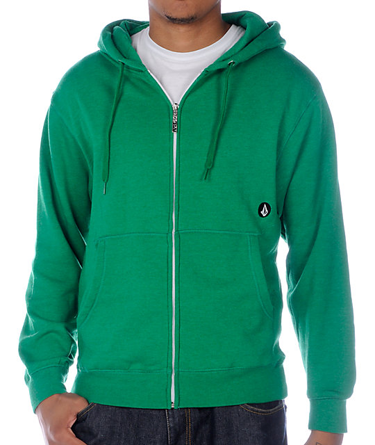 Volcom Stealth Green Hoodie