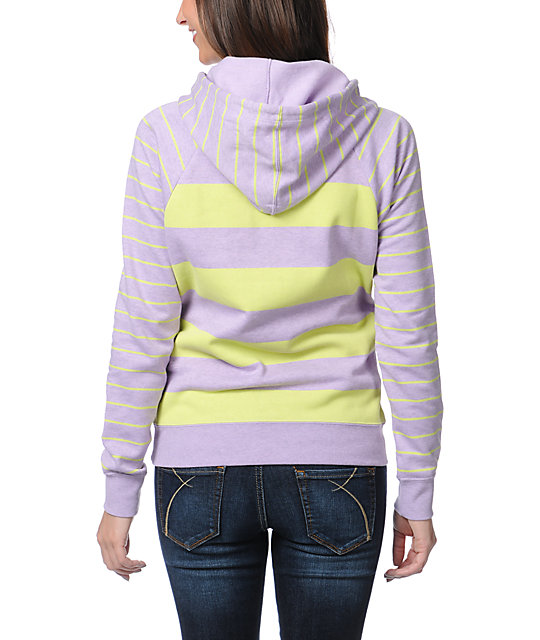 Volcom Stoned With My Hoody Purple Pullover Hoodie