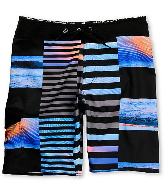Volcom Stoneset Black Board Shorts