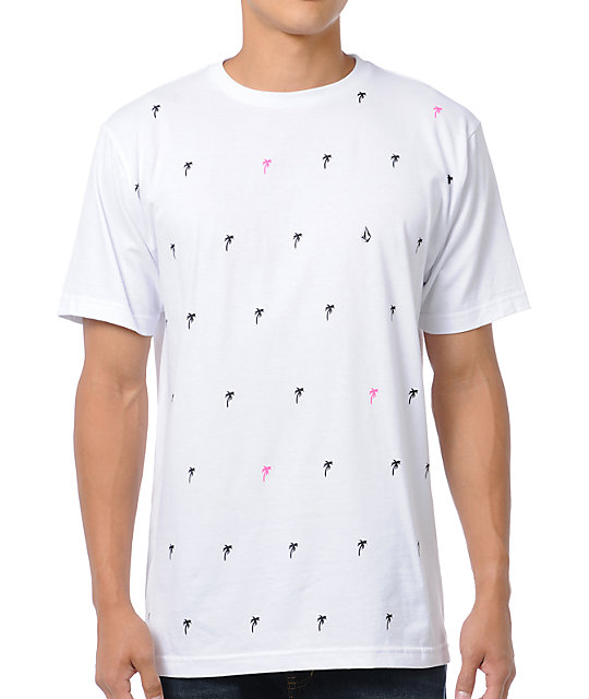 Volcom Studio Cafe White T-Shirt