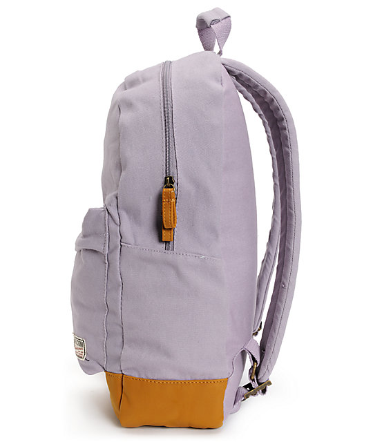 Volcom Supply And Demand Lilac Purple Backpack