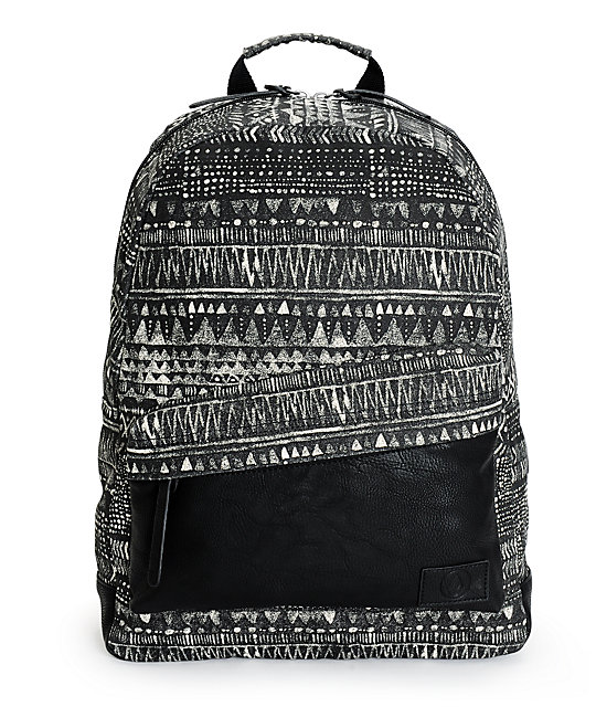 Volcom Supply Geo Tribal Print Backpack