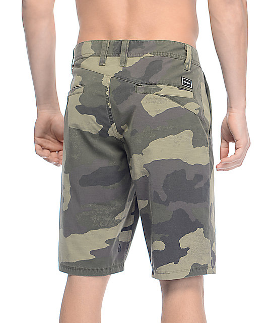 Volcom Surf N' Turf Mix Camo Hybrid Shorts