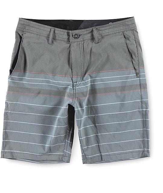 Volcom Surf N Turf Stripe Hybrid Shorts