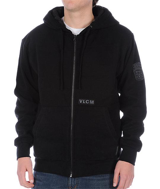 Volcom Survival 6-Pack Black Hoodie