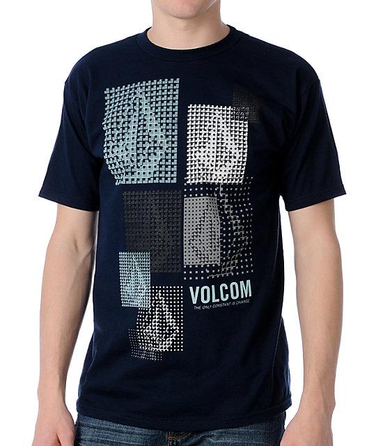 Volcom Three & One Blue T-Shirt