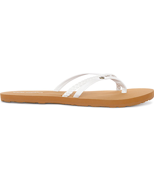 Volcom Thrills White Sandals