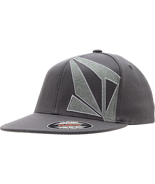 Volcom Transfix Black Flexfit Hat