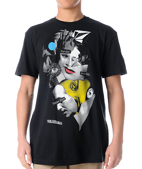 Volcom True Love Black T-Shirt