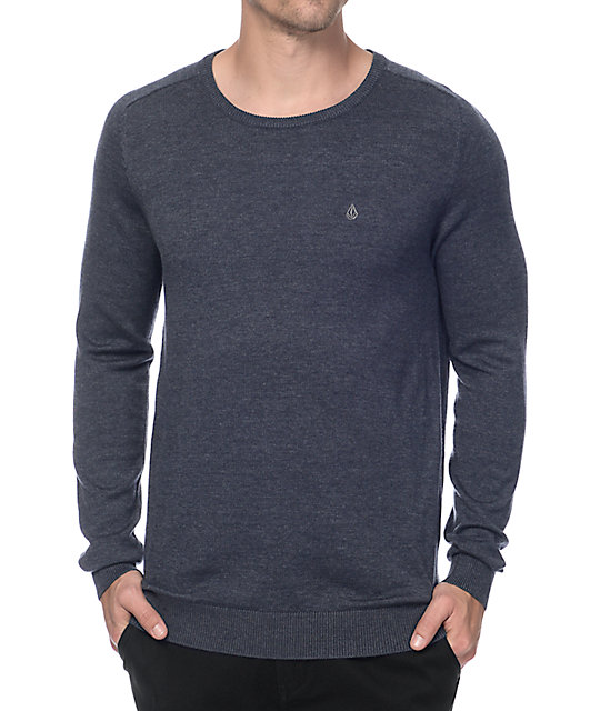 Volcom Uperstand Navy Sweater