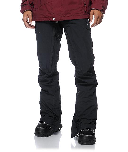 Volcom V-Bird GORE-TEX Black Snowboard Pants
