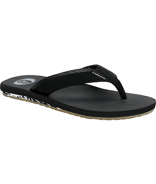 Volcom Vector Black Creedler Sandals