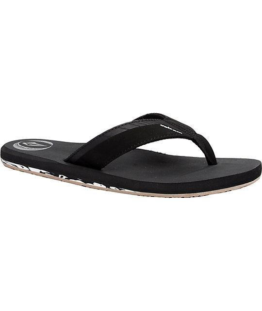 Volcom Vector Creedler Black Sandals