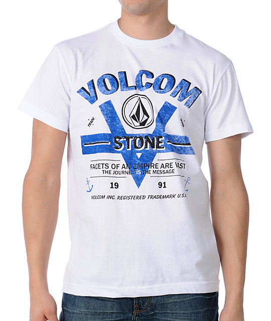 Volcom Vee Twin White T-Shirt