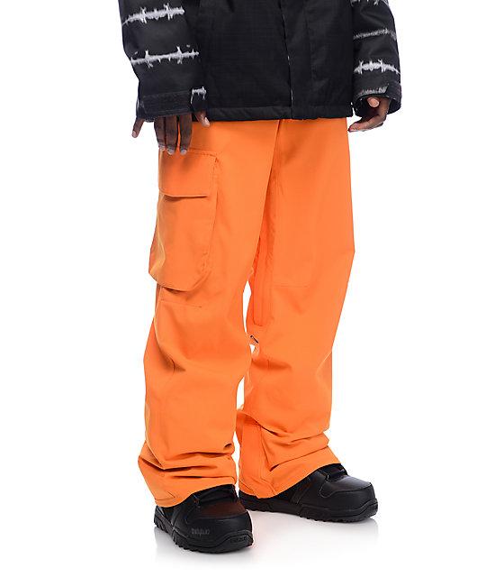 Volcom Ventral Pumpkin 15K Snowboard Pants
