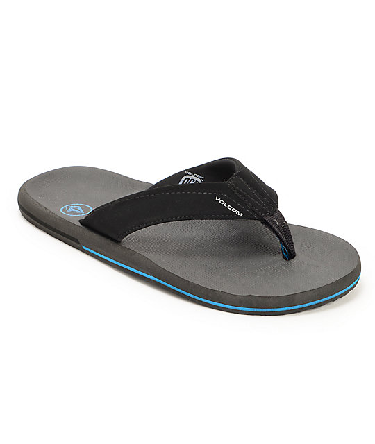 Volcom Victor Pewter Sandals