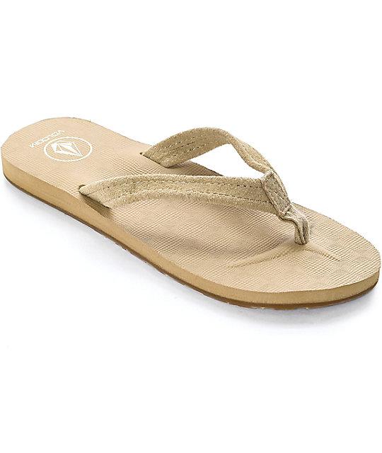 Volcom Victoria Tan Sandals