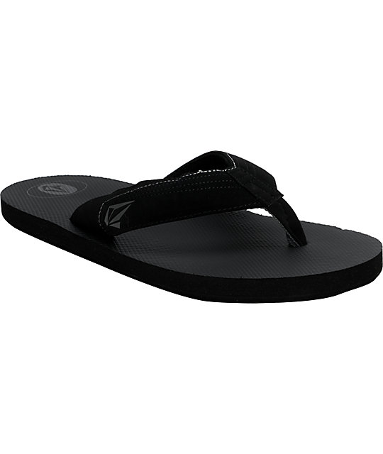 Volcom Vocation Black Creedler Sandals