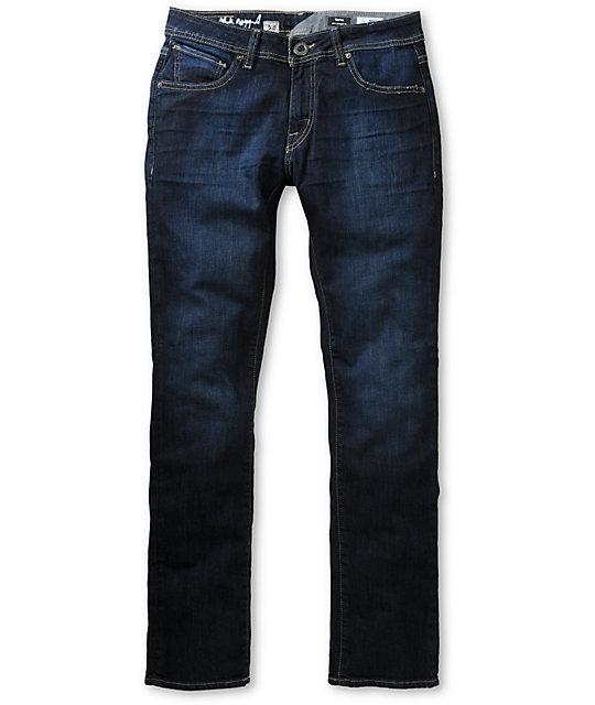 Volcom Vorta Appleyard S Gene Stretch Blue Slim Fit Jeans