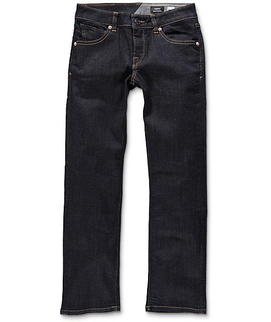 Volcom Vorta Boys Rinse Straight Fit Jeans