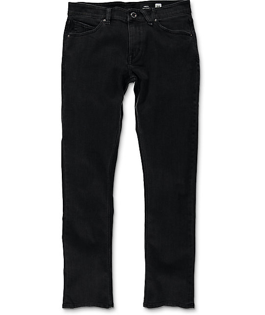 Volcom Vorta Ink Black Slim Fit Jeans