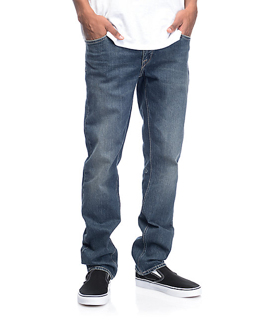 Volcom Vorta Light Blue Denim Jeans