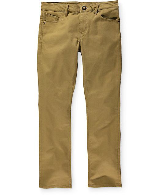 Volcom Vorta Twill Slim Fit Jeans