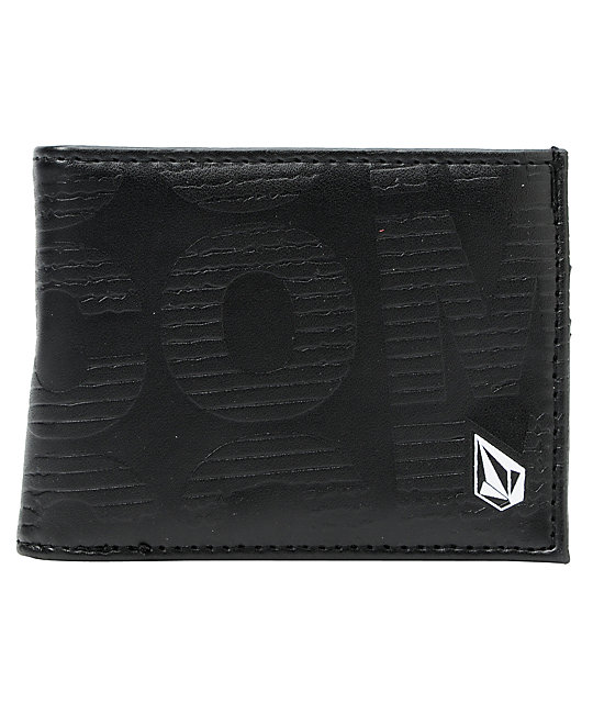 Volcom Want More Black Bifold Wallet