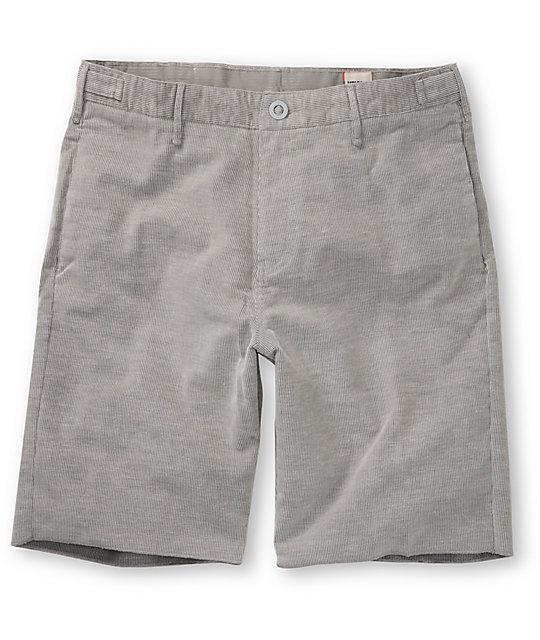 Volcom Whales White Cord Shorts