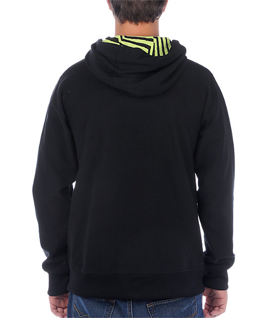 Volcom Windzer Windstopper Black Tech Fleece Jacket