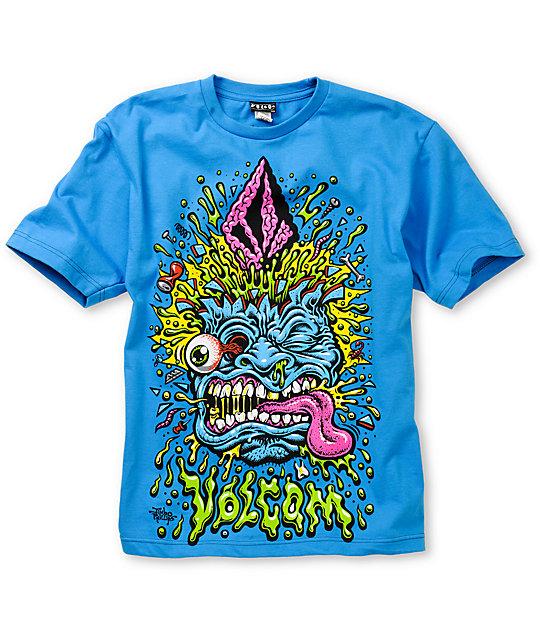 VolcomJimbo Phillips Blue Boys T-Shirt