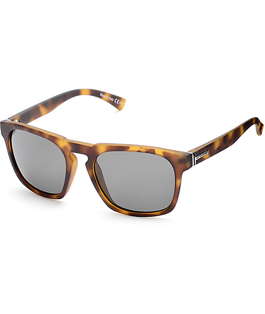 Von Zipper Banner Satin Tortoise & Grey Sunglasses