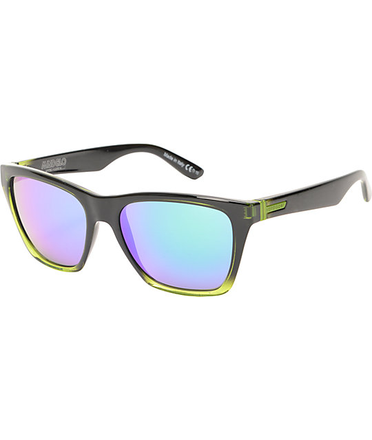 Von Zipper Booker MindGlo Lime Green Sunglasses