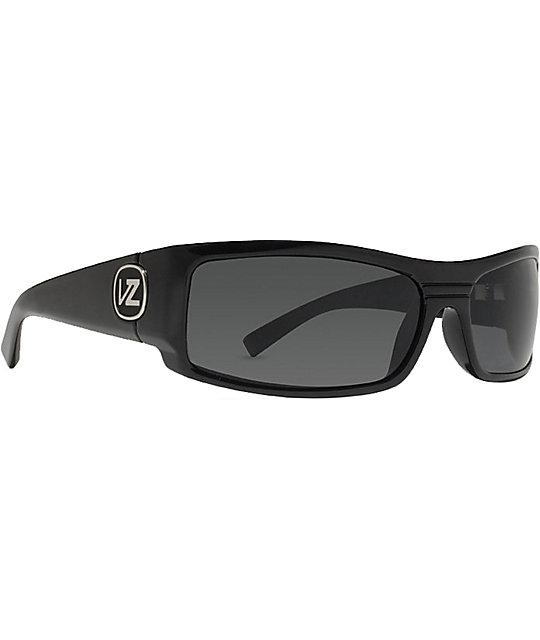 Von Zipper Burnout Polar Black Gloss Sunglasses