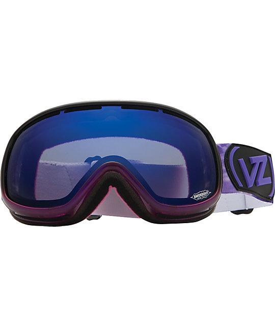 Von Zipper Chakra Smokeout Purple Erkel Snowboard Goggles