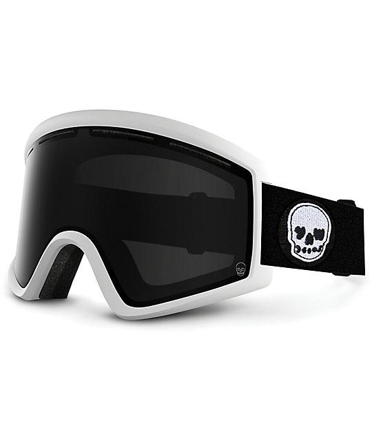 Von Zipper Cleaver Yawgoons White & Black Snowboard Goggles