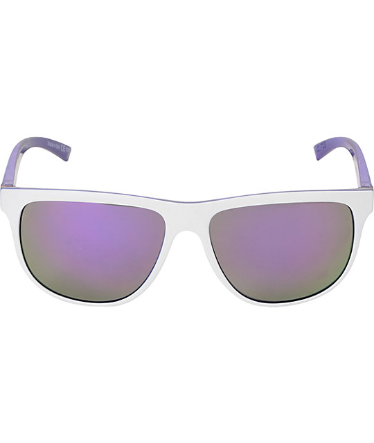 Von Zipper Cletus Whiteout Purple & Meteor Glo Sunglasses